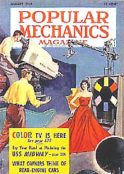 popular mechanics announces color tv