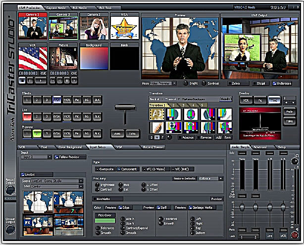 Video switcher software